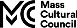 Black and white logo for the Mass Cultural Council.